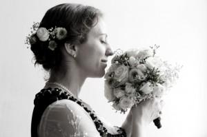 Hochzeitsfotos - Braut