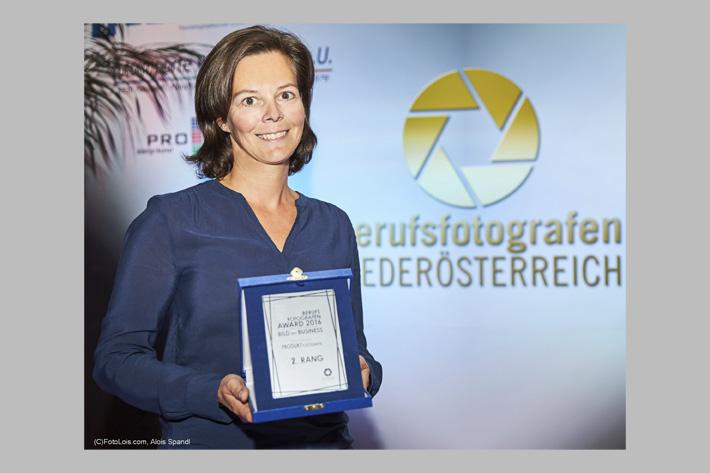 Maria Hörmandinger mit Auszeichnung